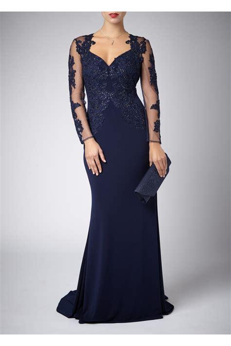 La Robe Black Lash Dress Mascara - mascara pour la femme lace sleeve dress in navy
