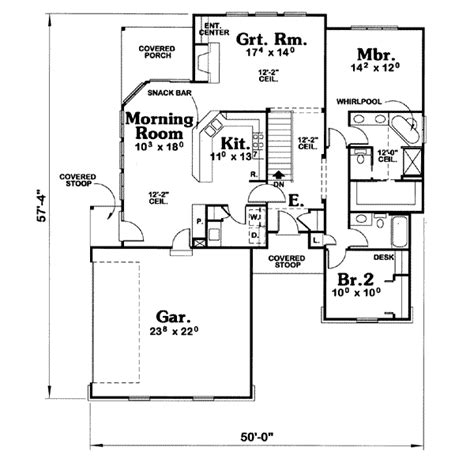 traditional plan 2 525 square feet 4 bedrooms 3 traditional style house plan 2 beds 2 00 baths 1558 sq