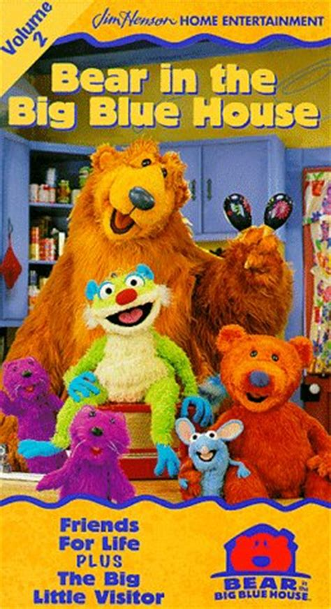 bear inthe big blue house music friends for life tv show news videos full episodes and