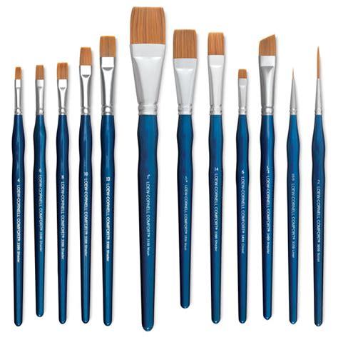 loew cornell soft comfort brushes loew cornell comfort brushes blick art materials
