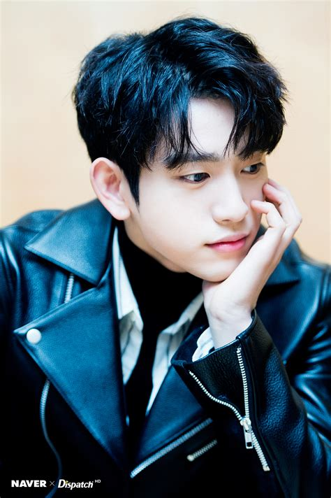 got7 jinyoung dispatch got7 jinyoung is the quot wall of handsomeness