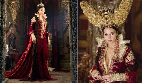 monica bellucci matrix costume the brothers grimm 2005 character mirror queen played by