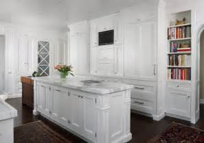 tv niche transitional kitchen exquisite kitchen design