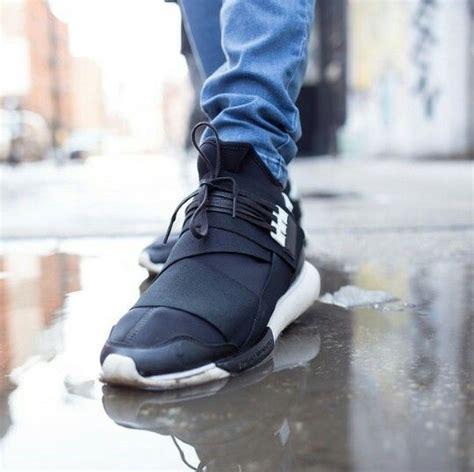 Adidas Y 3 Qasa High Blackwhite Premium High Quality 1 adidas y 3 qasa high quot black white quot clothes sneakers shoes fashion adidas
