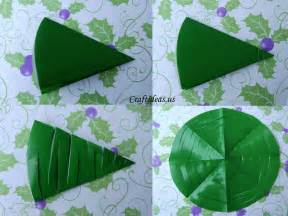 Christmas craft ideas paper christmas tree tutorial