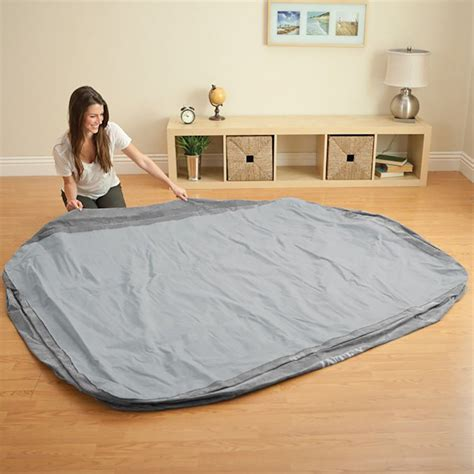 intex comfort plush elevated mattress air bed w built in 64413e 735346822763 ebay