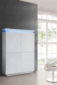 meuble de bar design blanc laqu 233 et led design comforium