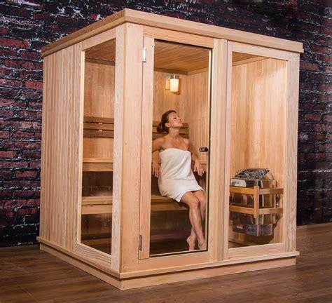 cabina sauna saunas de cabina para interior almost heaven saunas