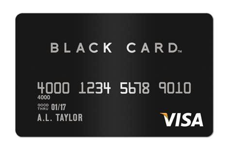 Visa Black Card Gifts - visa 174 black card credit card insider