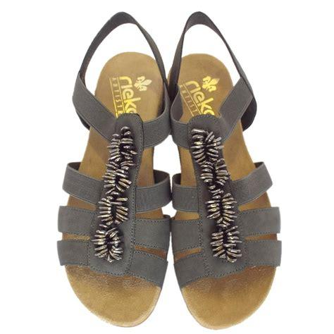 comfortable gladiator sandals rieker neopolitan women s comfortable gladiator sandals