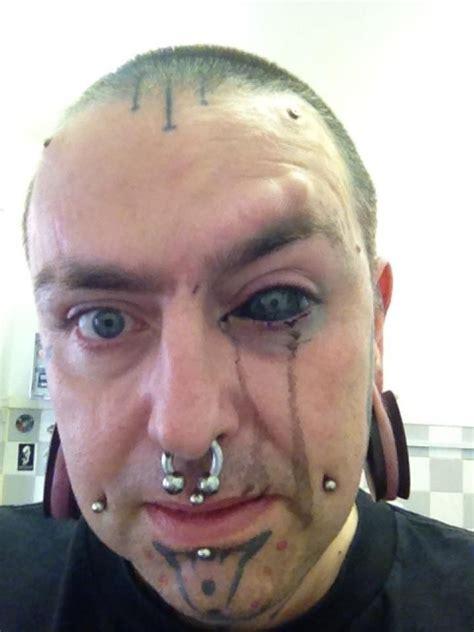 tattoo eye white eyeball tattoo whoa did you know that this procedure is