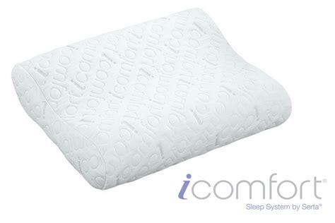 serta icomfort scrunch pillow icomfort 174 contour pillow by serta 174 at gardner white