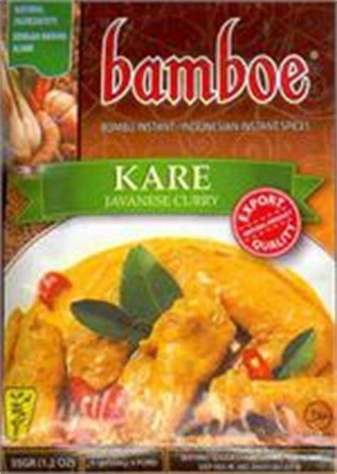 Bamboe Bumbu Sup Gule Indonesia nasi ayam goreng soto opor bumbu rendang