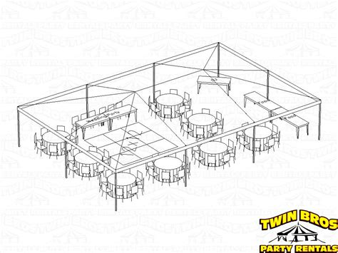tent layout with banquet tables 30x45 frame tent layouts
