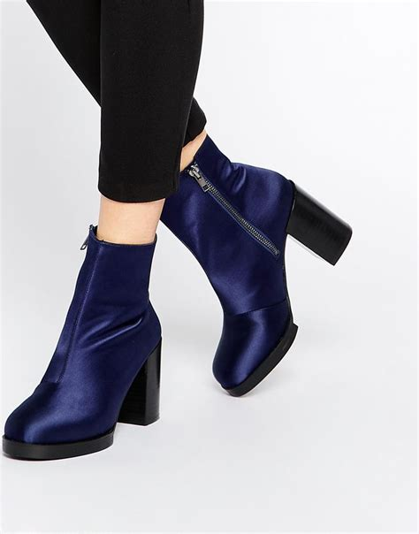 Yummi Ankle Heels asos effects ankle boots shoes asos