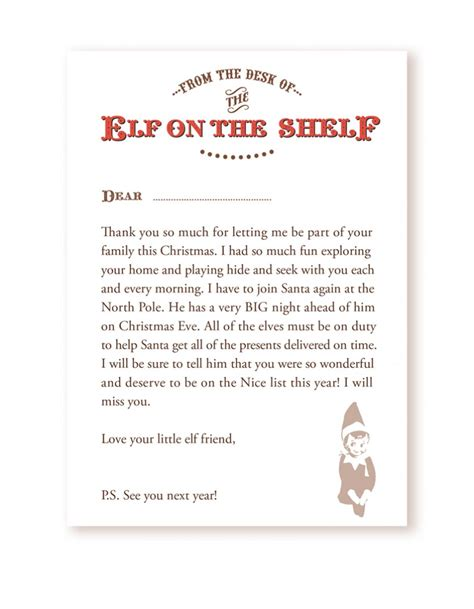 Elf On The Shelf Letters Letters And Other Great Ideas | elf on the shelf letters letters and other great ideas
