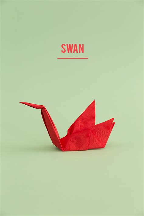 Swan Paper Folding - swan paper napkin folding 28 images 25 best ideas