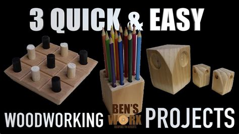 easy woodworking projects christmas gifts youtube