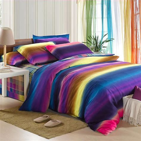 rainbow bedding homeofficedecoration rainbow bedding sets