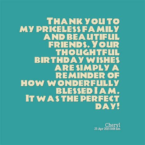 Birthday Thank You Quotes Birthday Thank You Friends Quotes Quotesgram