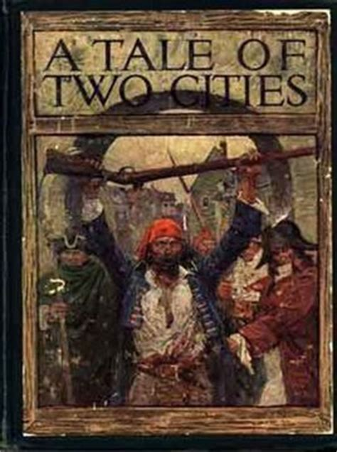 charles dickens biography tale of two cities quot a tale of two cities quot by charles dickens the hungry