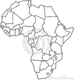 Africa Political Map Blank by Gallery For Gt Africa Political Map Blank