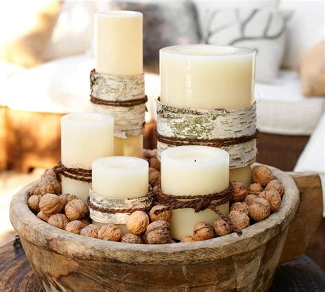 christmas candle centerpiece a bright idea pinterest