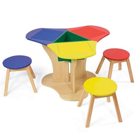 Kidkraft Lego Table With Stools by New Sale Kidkraft Children Lego Activity Table 3 Stools