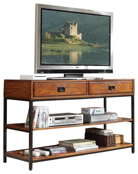 houzz tv stands homestyles tv stand distressed oak entertainment