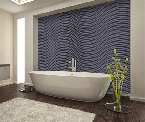 Bathroom Paneling Ideas 15 dazzling decorative 3d wall panels trends of 2017