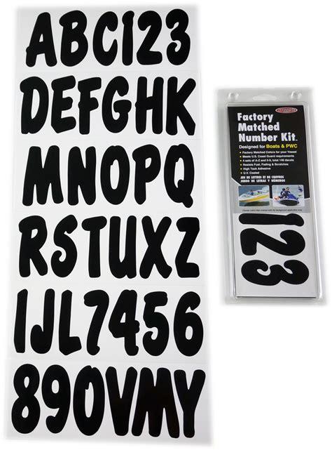 boat registration lettering size black boat lettering registration numbers decals 200