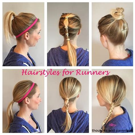 runners with short hair hairstyles for triathlons running hair cute haircuts