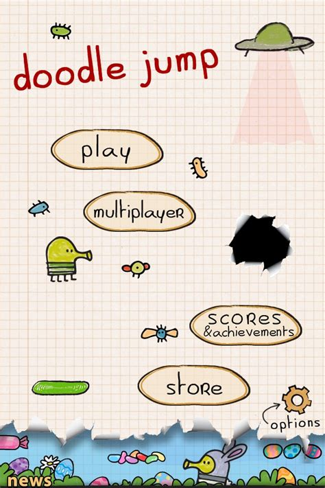 doodle jump version free iphone doodle jump review iphone ios universe