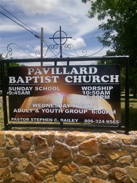Mba In Amarillo by Pavillard Baptist Church Amarillo Tx 187 Kjv Churches