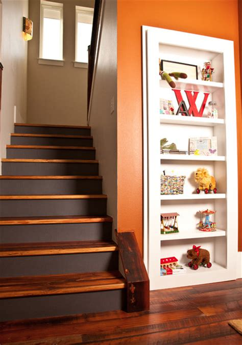 secret bookcase door on closet stashvault