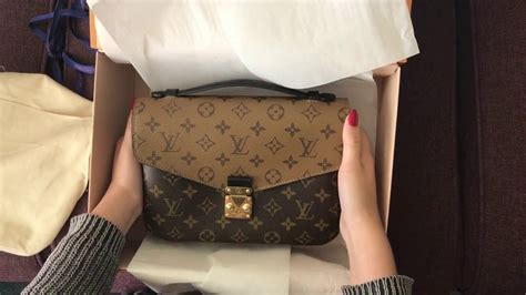 louis vuitton unboxing pochette metis reverse youtube