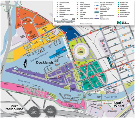 melbourne australia world map popular 189 list melbourne tourist attractions map