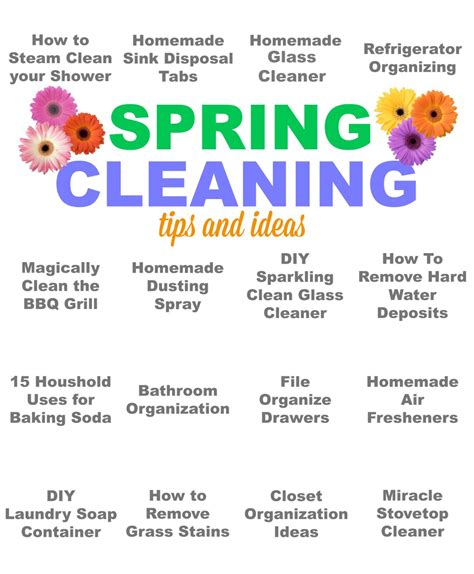tips for spring cleaning pinkwhen crafting cooking creating