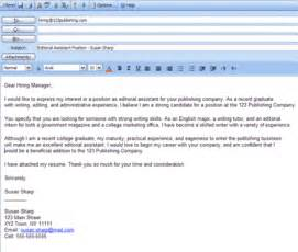 Email Cover Letter Exle 6 Easy Steps For Emailing A Resume And Cover Letter Easy