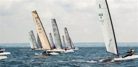 circolo velico porto corsini a porto corsini il cionato italiano di catamarani classe a