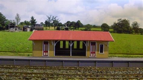 qr wacol station kit post 60 s era ho scale model