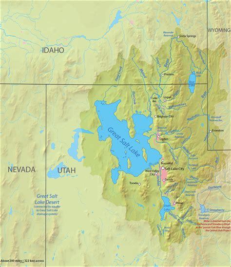 File:Great salt lake drainage map   Wikimedia Commons