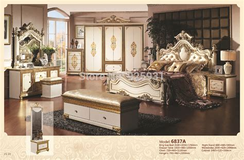 luxury king size bedroom sets no 6837a luxury bedrom euro desgine bedroom furniture 7