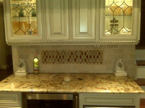 crackle glass backsplash home designs