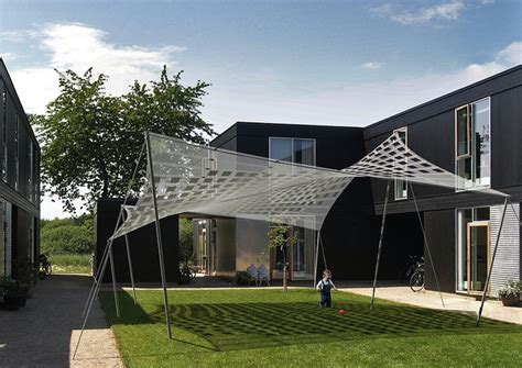 Backyard Solar Panels by Jetson Green Tensile Solar Has Big Potential
