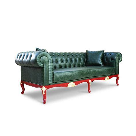 handmade chesterfield sofa portofino handmade tufted chesterfield green leather sofa