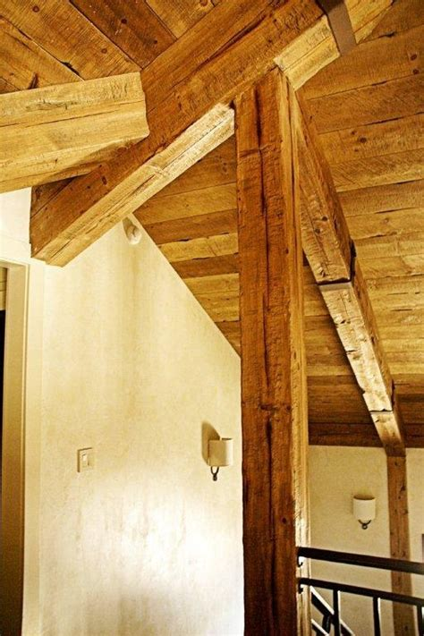 Distressed Wood Ceiling by Pin By Green Valley Beam Truss Co On Beams Trusses
