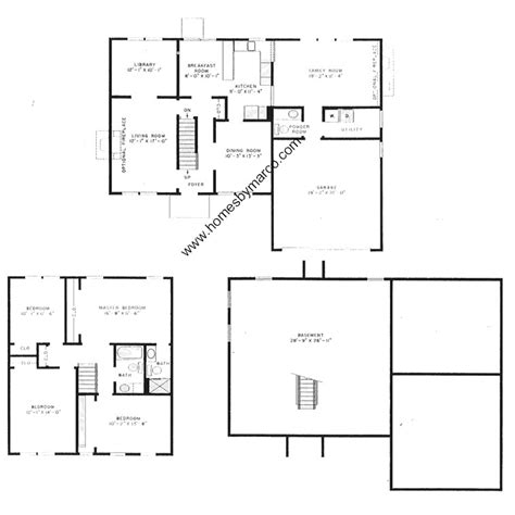 essex homes floor plans essex model in the strathmore grove subdivision in buffalo