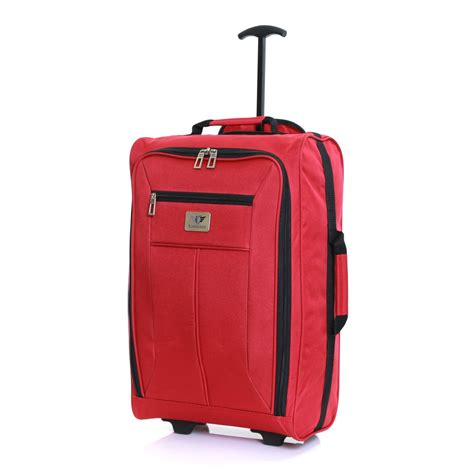 Ryanair Compatible Cabin Luggage by Ryanair Easyjet 55 Cm Cabin Approved Flight Trolley