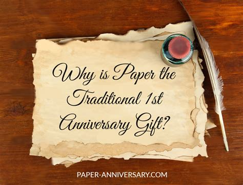 1st wedding anniversary ideas paper why is paper the traditional first anniversary gift